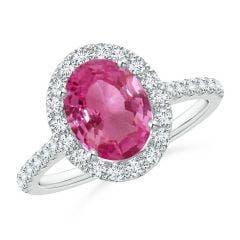 c03479b1e Pink Sapphire Jewelry: Buy Natural Pink Sapphire Jewelry at Angara
