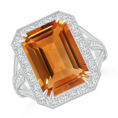 fba94a9f7be8a Citrine Engagement Rings: Buy Natural Citrine Engagement Rings at Angara