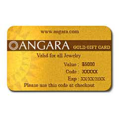 $5000 Gold Gift Card