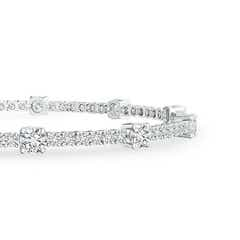 Toggle Diamond Station Bracelet