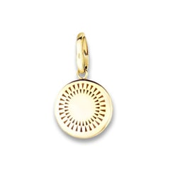 14k Yellow Gold Signature Sun Charm