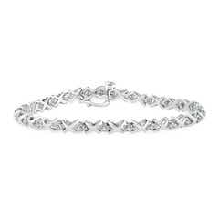 14k White Gold Round Diamond