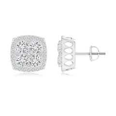 Angara Pave-Set Diamond Multiple Bar Stud Earrings dTQdG8