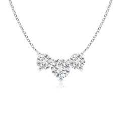Classic Trio Diamond Necklace