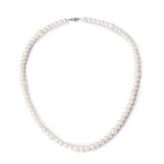 Fusion Freshwater Cultured Pearl Strand with Filigree Clasp