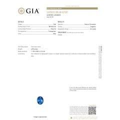 Toggle GIA Certified Oval Sri Lankan Sapphire Ellipse Halo Pendant