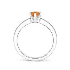 Toggle Tapered Shank Oval Solitaire Citrine Ring