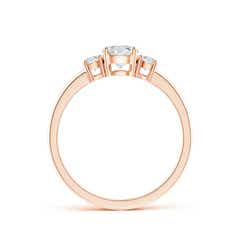 Toggle Classic Diamond Three Stone Engagement Ring