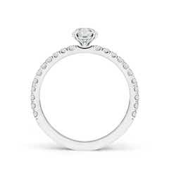 Toggle Vintage Inspired Diamond Solitaire Ring