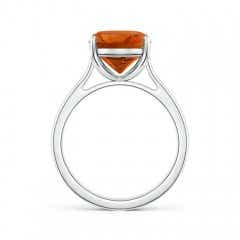 Toggle Classic Cushion Citrine Solitaire Ring