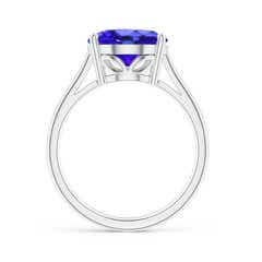 Toggle Oval Solitaire Tanzanite Cocktail Ring