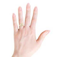 Toggle Classic Golden South Sea Cultured Pearl Ring
