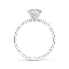 Toggle Classic Round Diamond Solitaire Ring