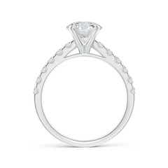 Toggle Classic Diamond Engagement Ring with Accents