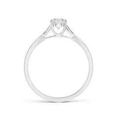 Toggle Diamond Solitaire Crossover Engagement Ring