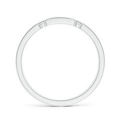 Toggle Triple Row Dotted Diamond Orbit Ring