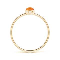 Toggle Pear-Shaped Citrine Solitaire Ring