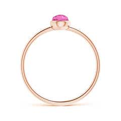 Toggle Pear-Shaped Pink Tourmaline Solitaire Ring