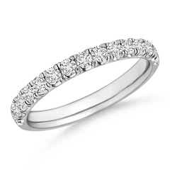 Half Eternity Round Diamond Wedding Band for Her