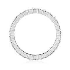 Toggle Shared Prong-Set Princess-Cut Diamond Eternity Band