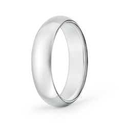 High Dome Classic Comfort Fit Wedding Band