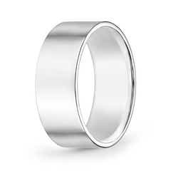 High Polished Flat Surface Classic Wedding Band