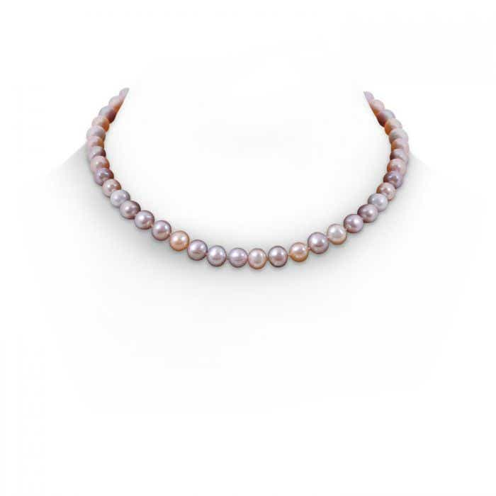 Angara 18 Multi-Colored Freshwater Cultured Pearl Necklace H4GVQkP