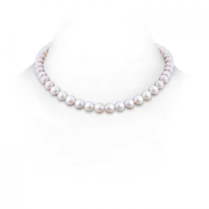 Angara 22 Classic Freshwater Cultured Pearl Necklace kUefwx7
