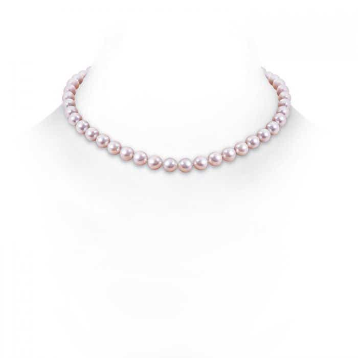 Angara 20 Classic Akoya Cultured Pearl Single Strand Necklace AUKtc