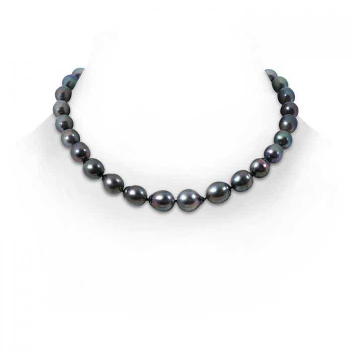 Angara 18 Baroque Tahitian Cultured Pearl Necklace Y8ko5Ttqzf