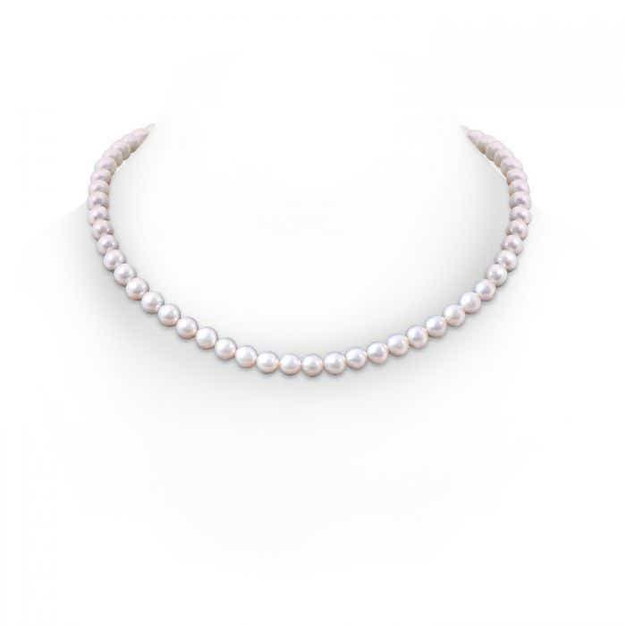 Angara 20 Classic Freshwater Cultured Pearl Necklace AGl0N5X3S