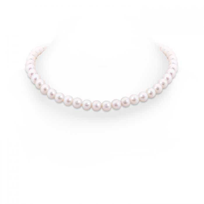 Angara 18 Freshwater Cultured Pearl Single Strand Necklace hvxyM0E