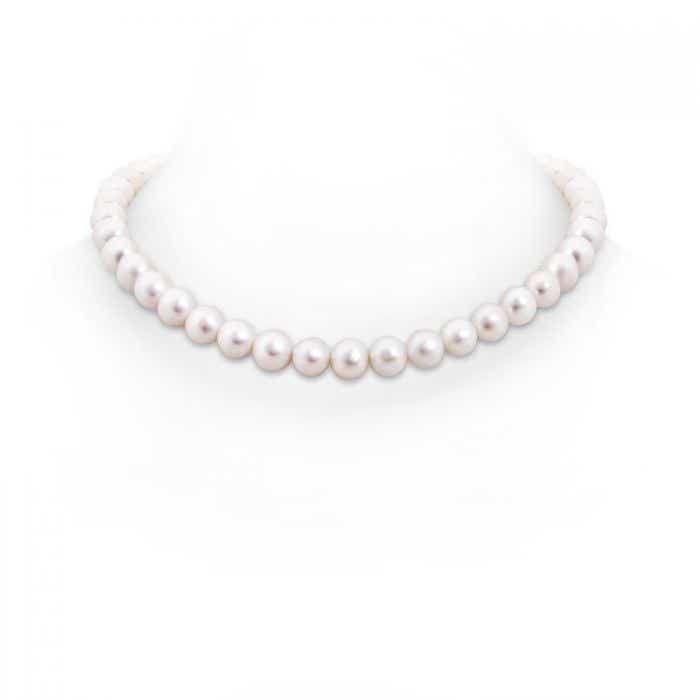 Angara 16 Classic Freshwater Cultured Pearl Single Strand Necklace Sy9mA