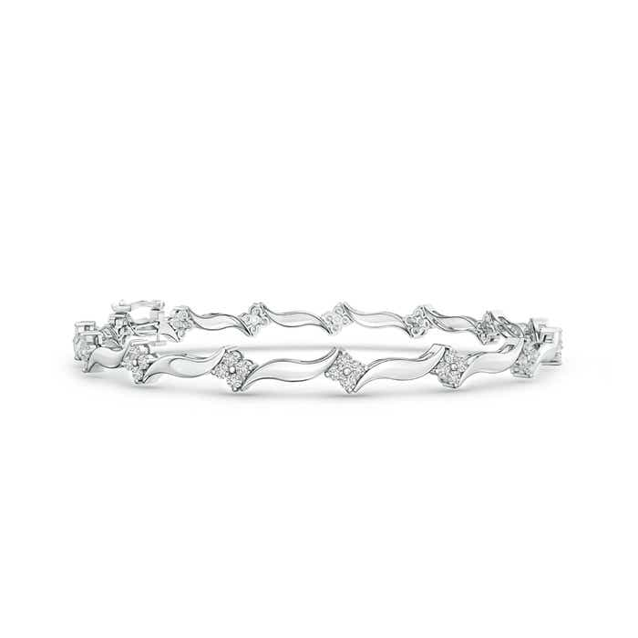 Angara Diamond Linear Bracelet in 14k Yellow Gold wQlXKJQ