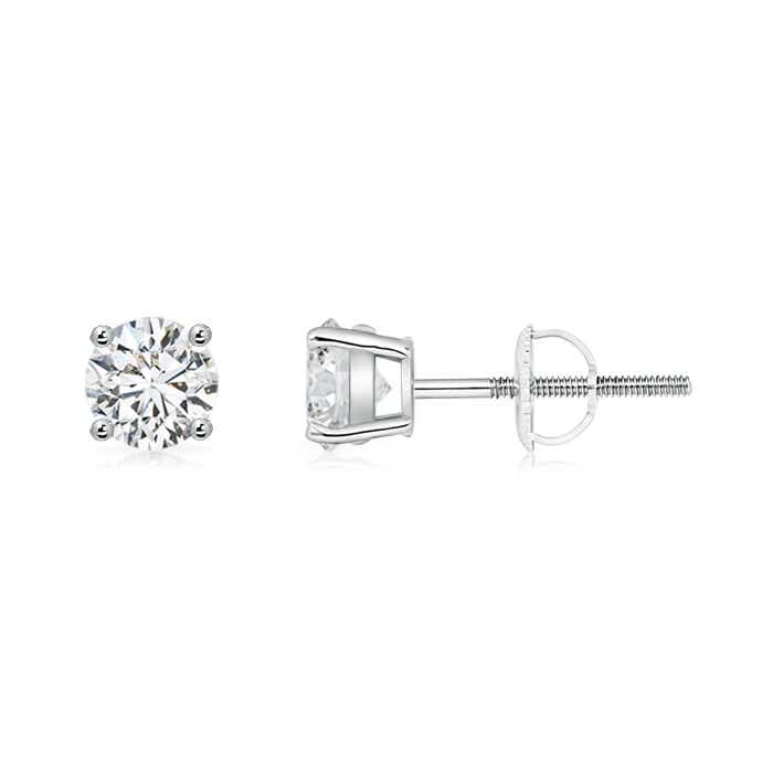 Angara Diamond Martini Stud Earrings in White Gold 01ak2SinV
