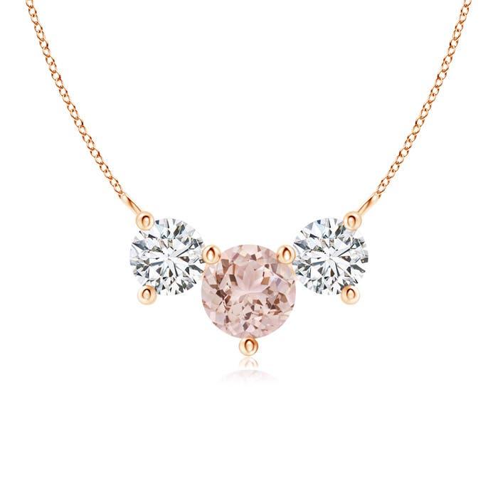 Angara Classic Trio Diamond Necklace mAML8Sj