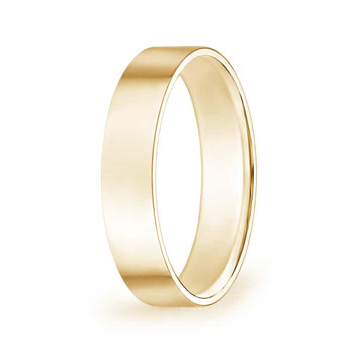 Angara Mens Polished Parallel Grooved Comfort Fit Wedding Band TbNxTqkZs