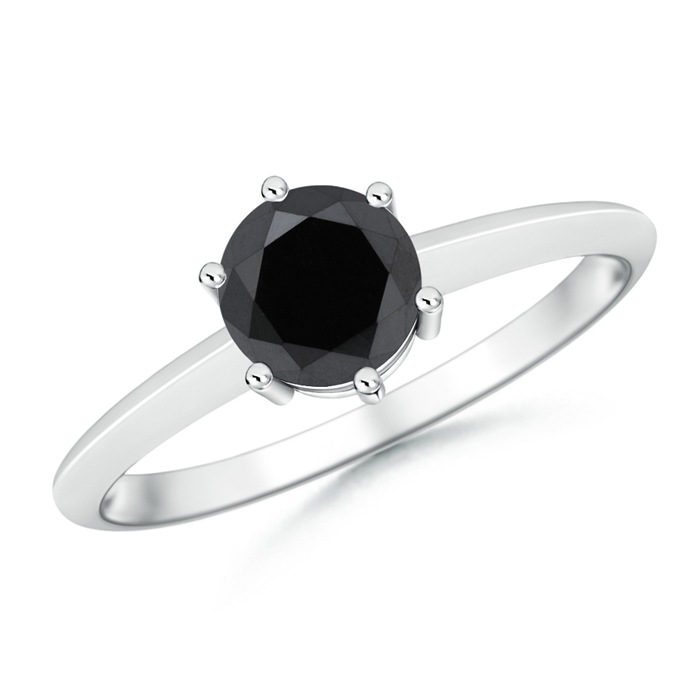 Angara Celtic Knot Diamond Solitaire Engagement Ring in Platinum YCvtY