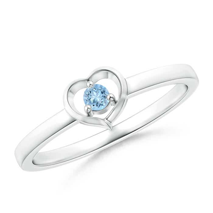 Angara Bezel Framed Round Ruby and Diamond Promise Ring in 14k Rose Gold 0vEk97O