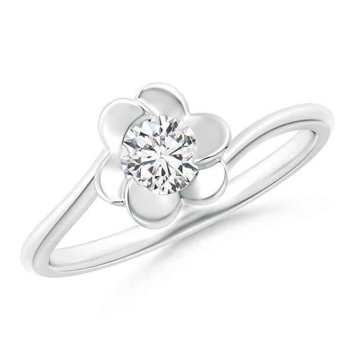 Angara Bypass Round Diamond Spiral Solitaire Ring 40Fu2tuwKC