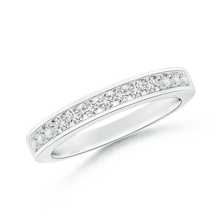 Angara Box Set Diamond Half Eternity Wedding Band vsxQYncf