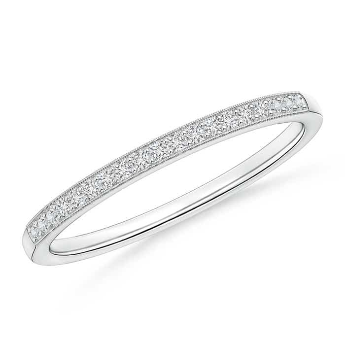 Angara Pave-Set Triple Row Diamond Anniversary Band jo5McQDVR