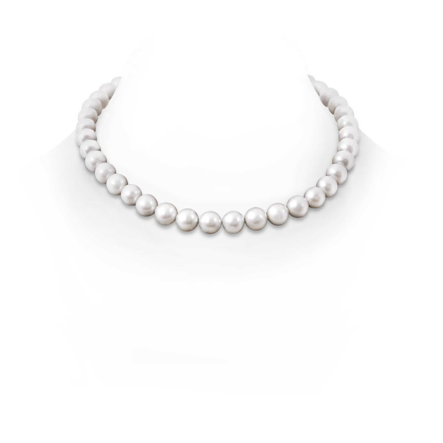10 11mm, 16 Classic Freshwater Cultured Pearl Necklace