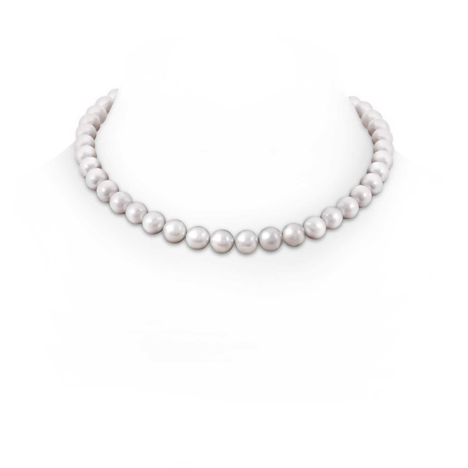 10-11mm, 18 Classic Freshwater Cultured Pearl Necklace