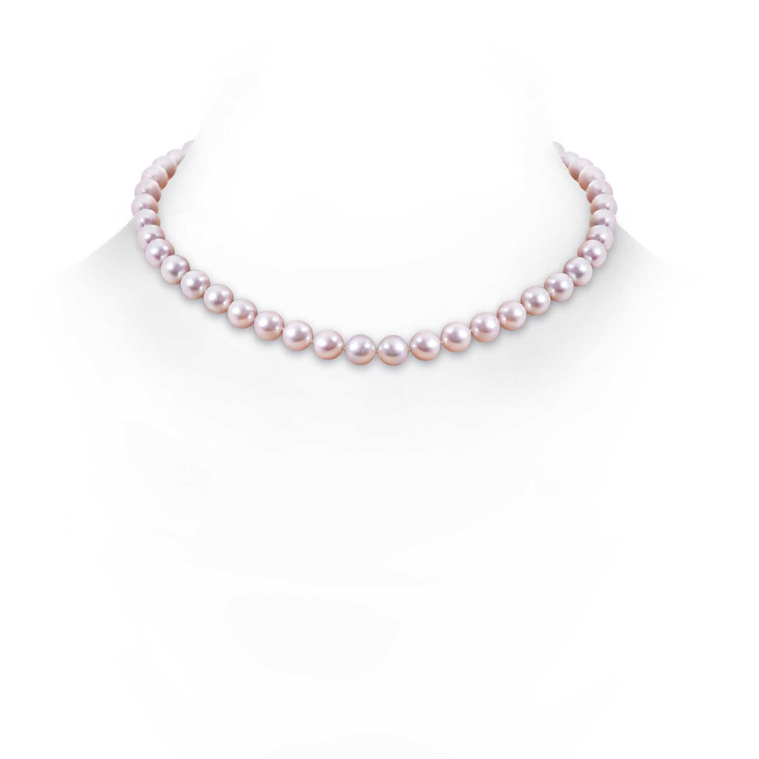 Angara 20 Single Strand Akoya Cultured Pearl Necklace UFwJFm