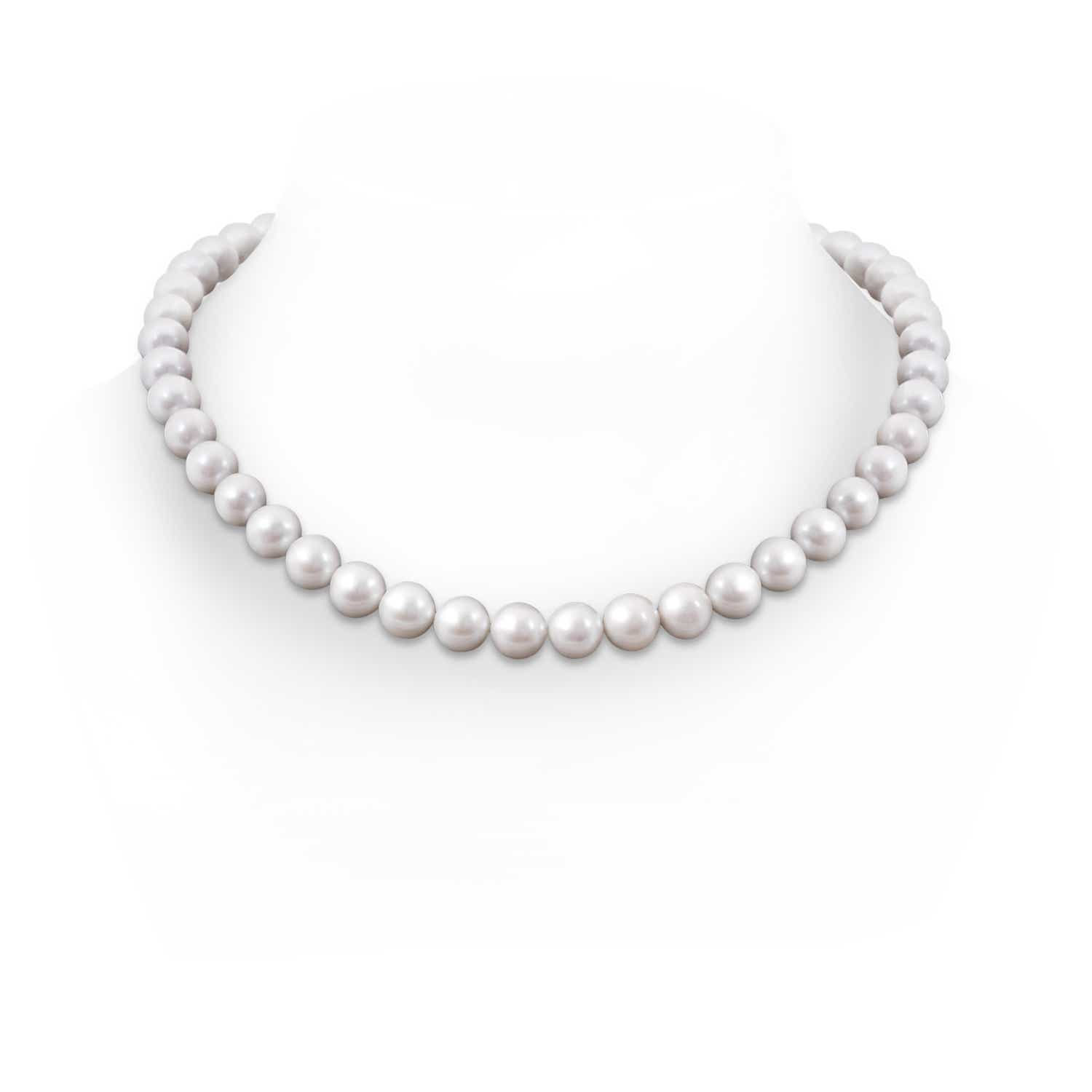 10 11mm, 20 Classic Freshwater Cultured Pearl Necklace