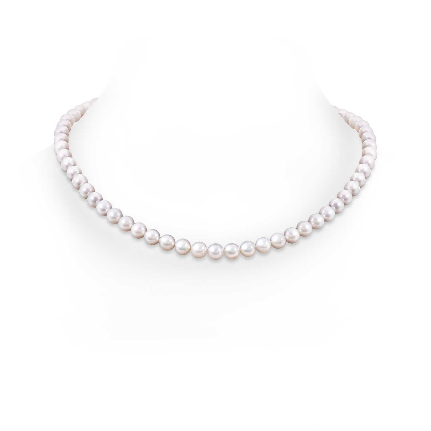 Angara 20 Akoya Cultured Pearl Double Strand Necklace 6LsLKtdtO