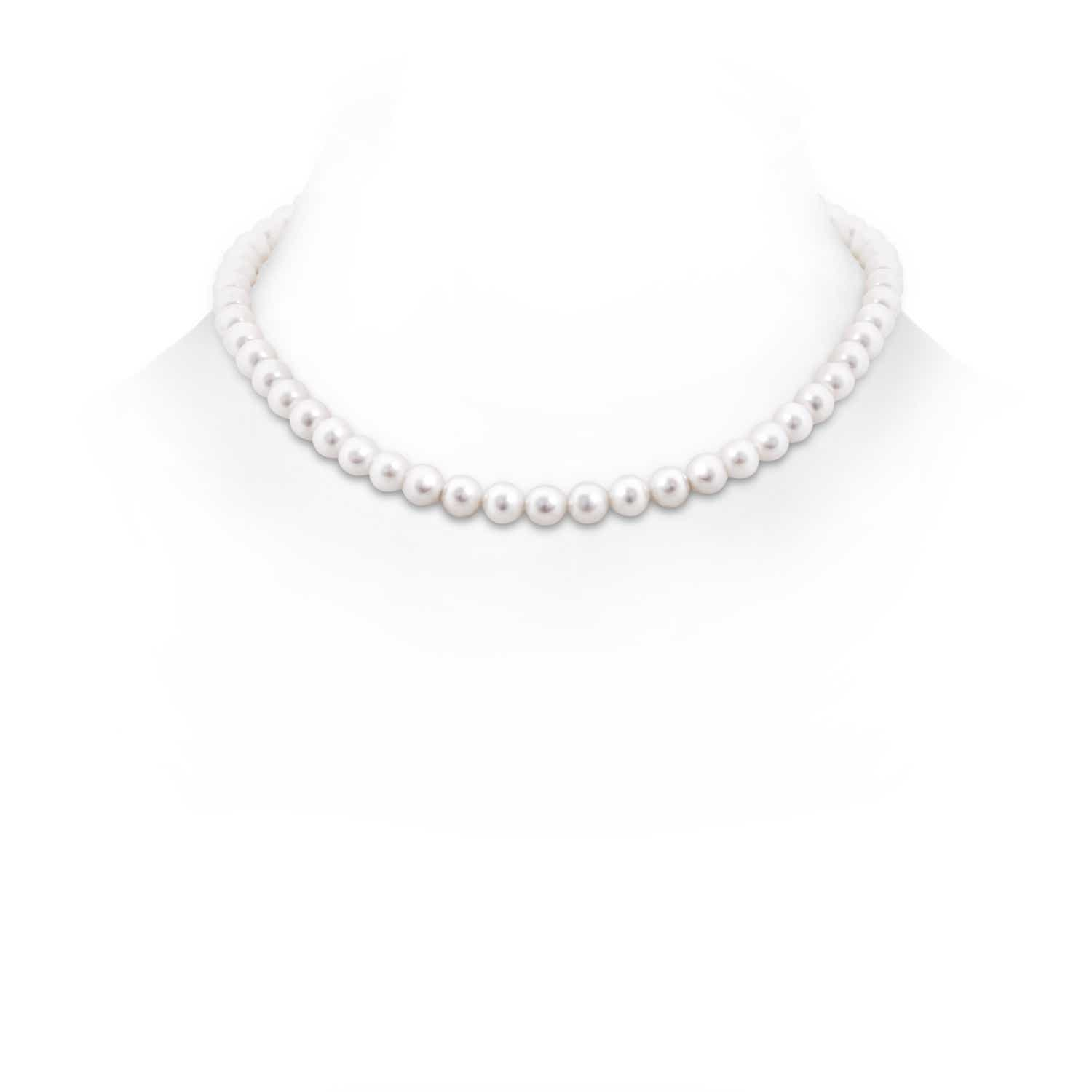 16 Freshwater Cultured Pearl Choker Necklace