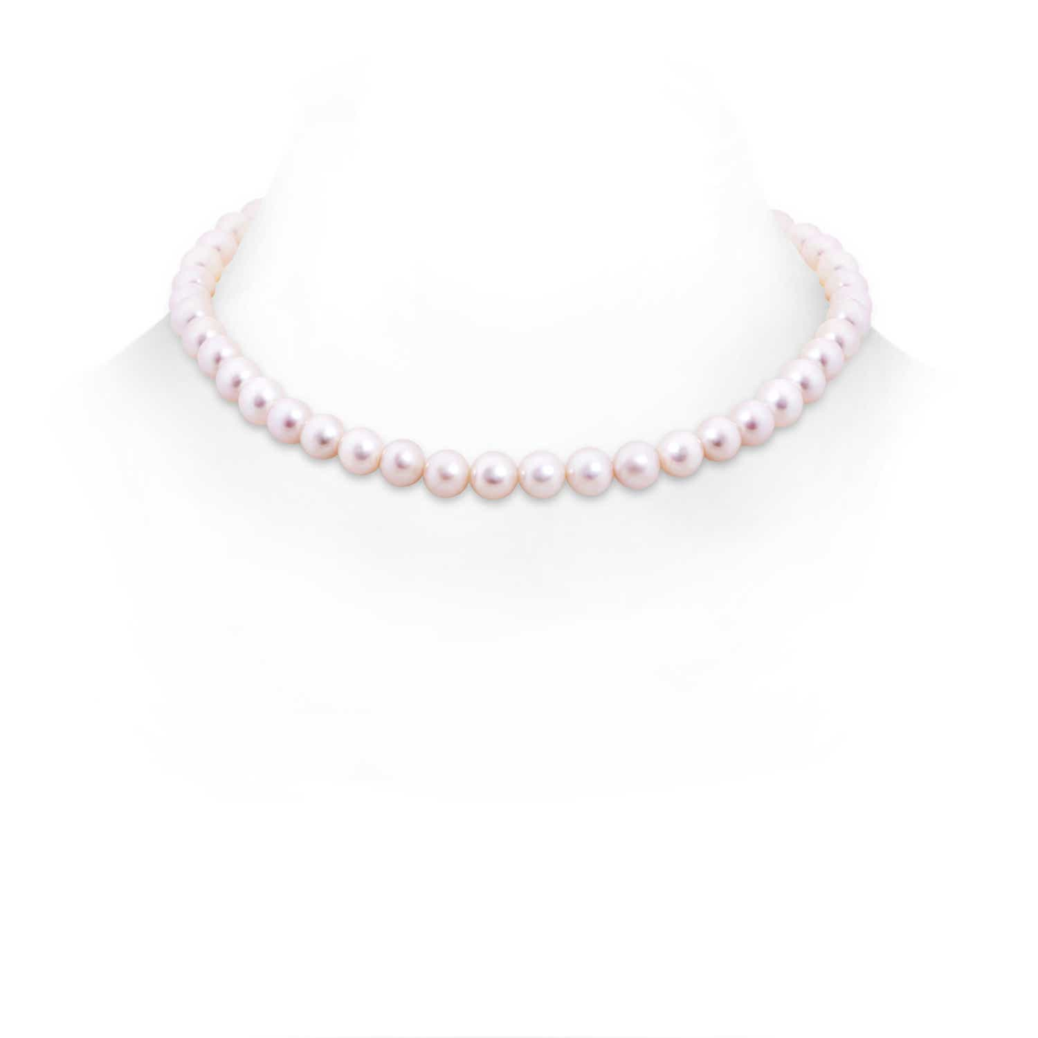 16 Freshwater Cultured Pearl Single Line Choker