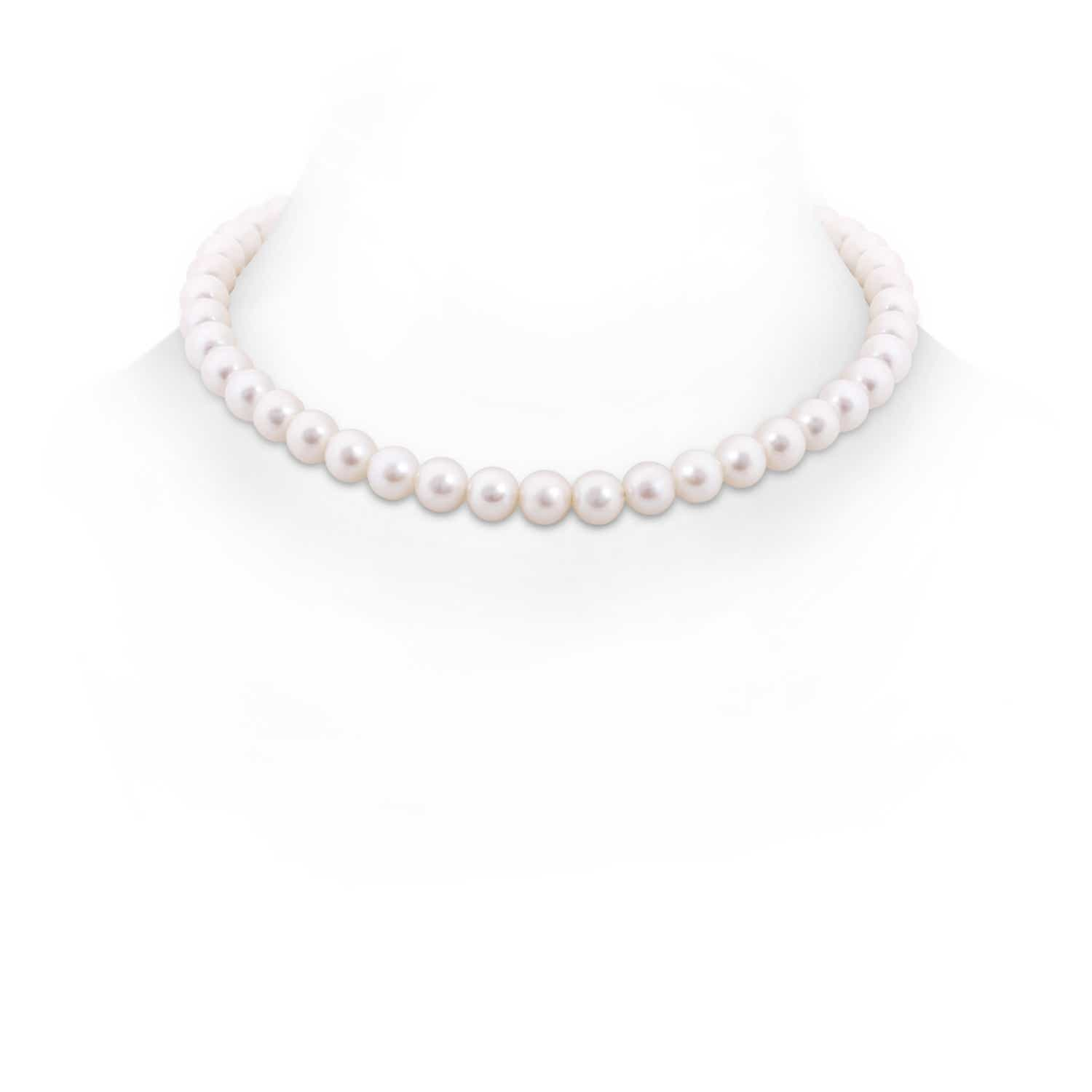 16 Freshwater Cultured Pearl Single Strand Choker Necklace